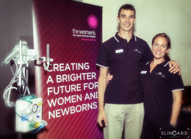 Kristie and Pete Lockyer at the Lilyroo Fund launch night