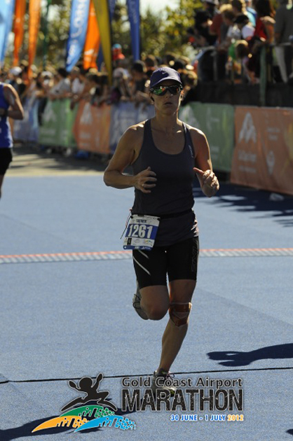Rayne at the 2012 Gold Coast Marathon