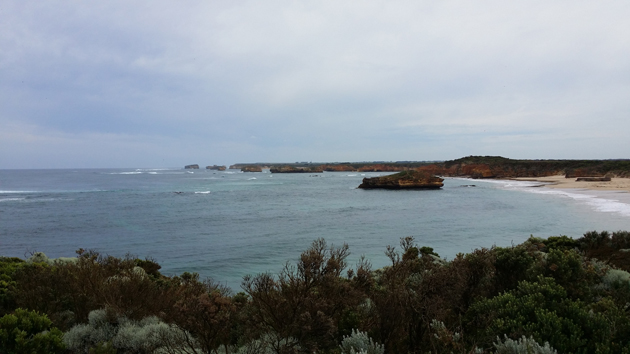 The Great Ocean Road will provide a stunning backdrop for Day 5 of the Lilyroo Ride.  Click to see a bigger version.