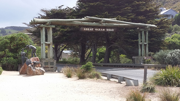 The Great Ocean Road Memorial Archway
