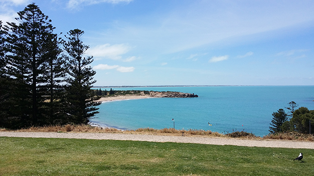 View from Commodore Reserve  towards Horseshoe Bay