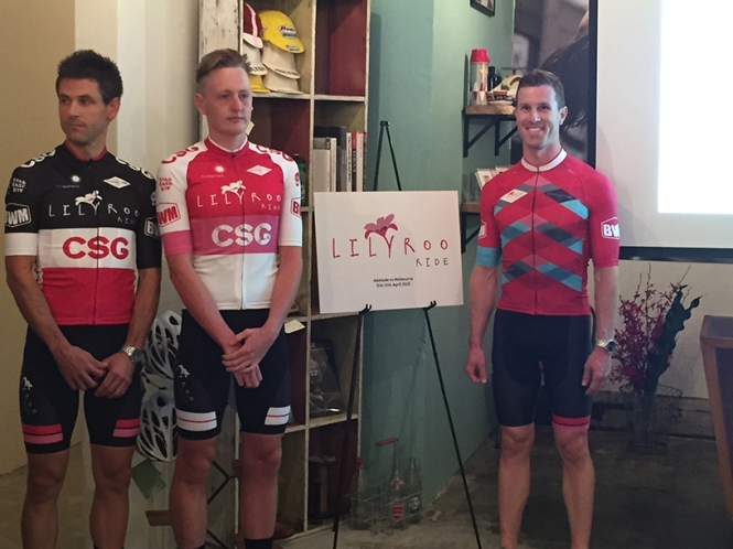 The inaugural Lilyroo Ride Kit