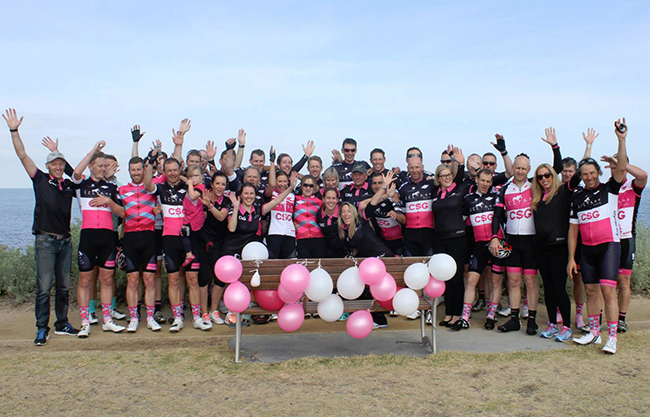 The 2015 Lilyroo Ride Team